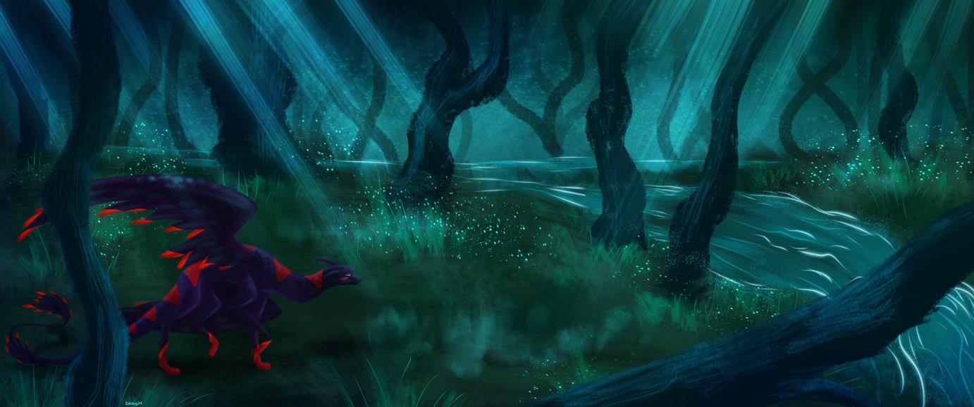 Swamp of Secrets by Icewing24