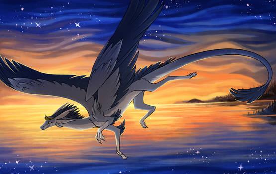 Heron's Flight