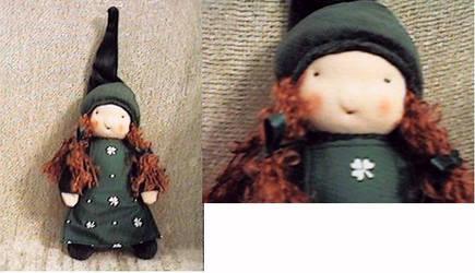 Little Colleen the Irish Gnome by Elfs-Toyshop