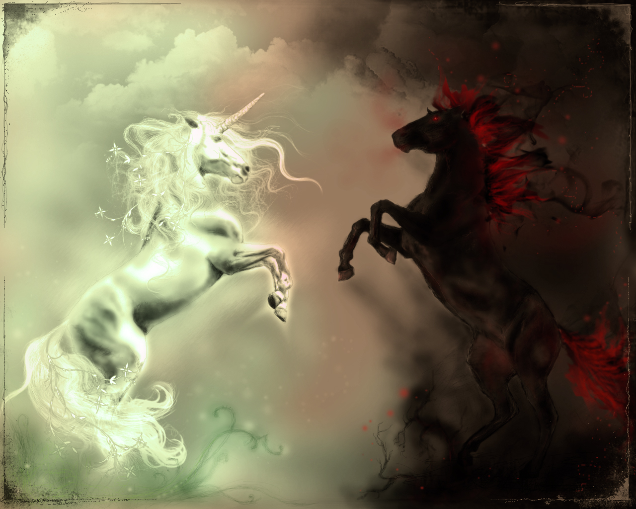 unicorn vs. nightmare