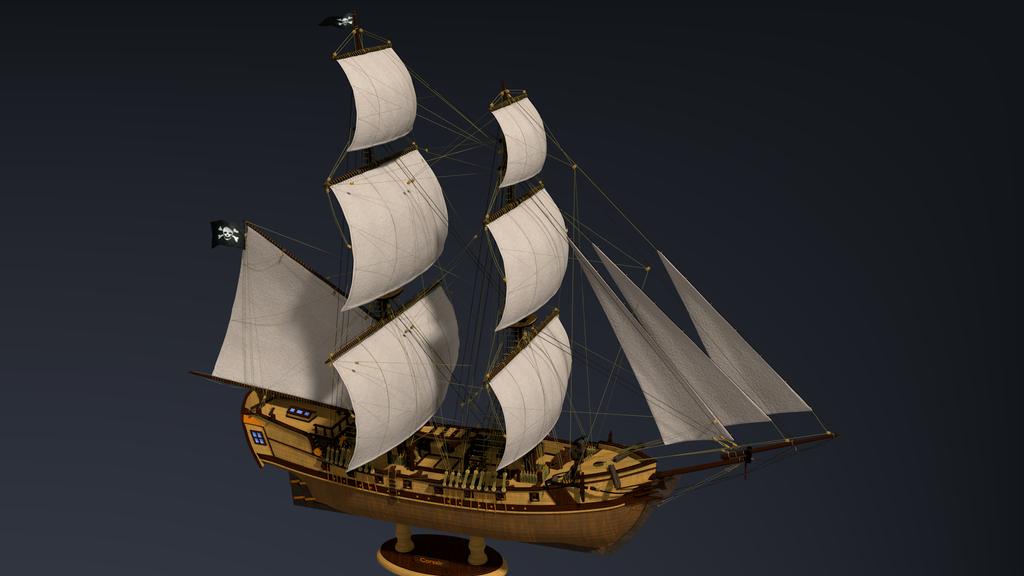 Как сделать парус к корабль