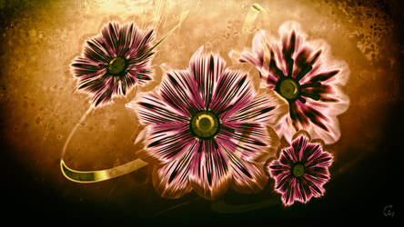 Abstract Flowers by Avenegerc47