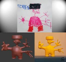 Kid World figurine 1 by Avenegerc47