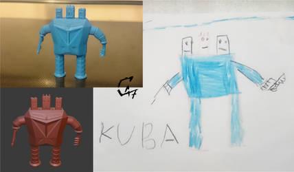 Kid world figurine 3 by Avenegerc47