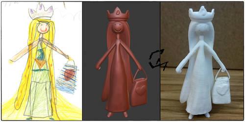 Kid World Figurine 4 by Avenegerc47