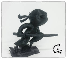 Ninja Figurine by Avenegerc47