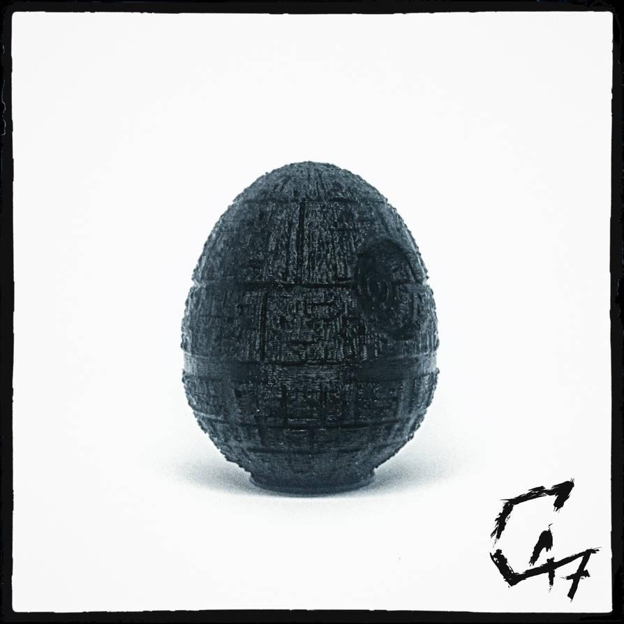 EggStar (Easter Egg Death Star) by Avenegerc47