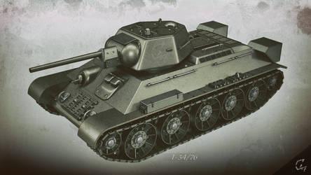T-34-76 wallpaper - front