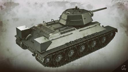 T-34-76 wallpaper - back
