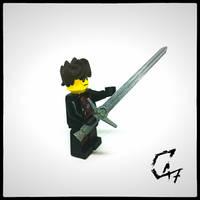 Lego Witcher sword - 3D Print
