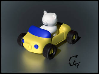 Piggy car