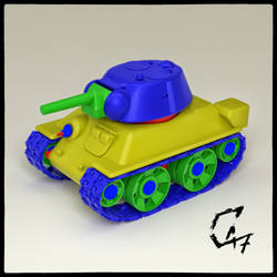 Mini T-34 Render