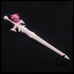 Bloodwars 2h Sword - 3d print