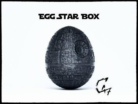 Egg Star Box - Death Star Easter Egg
