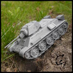 3d printed T-34-76 by Avenegerc47