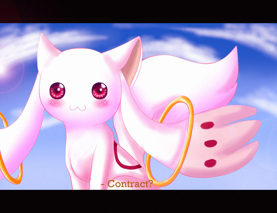 .::Kyubey::. by painter-des
