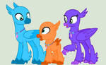 Hippogriff Siblings (base #1)