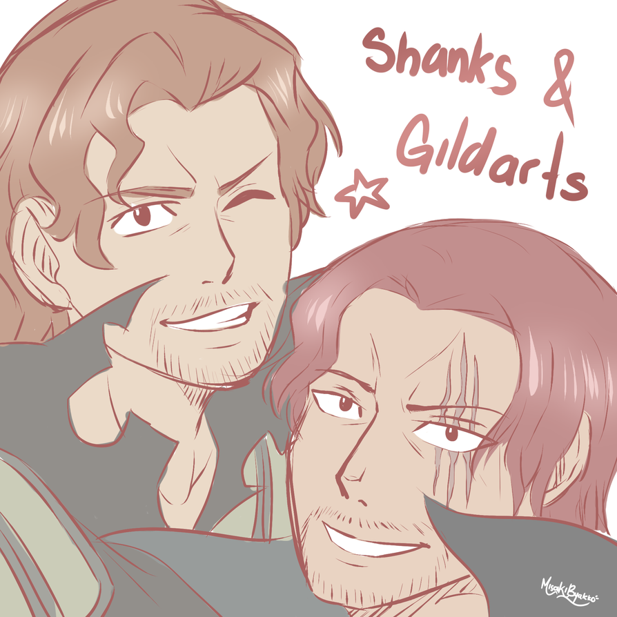 Shanks and Gildarts by MisakiByakko