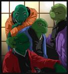 Turtles- Kimono by mreviver