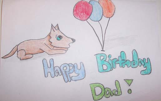 Birthday Present - Dad by LaraBara