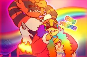 Ssbu - gay rights fodase by HTFStyles
