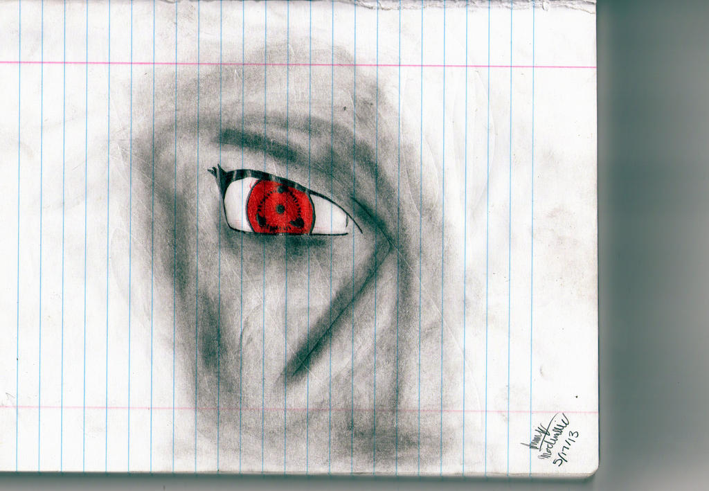 itachi uchiha drawing by cooljim15