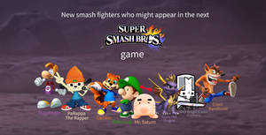 New fighters who might appear in the next SSB game
