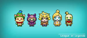 League of Legends by heeycah