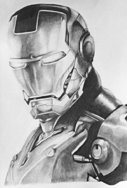 Iron Man by heeycah