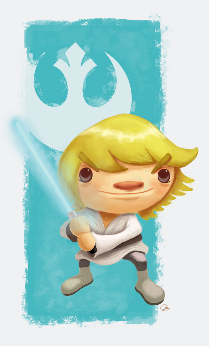 Luke Skywalker by heeycah