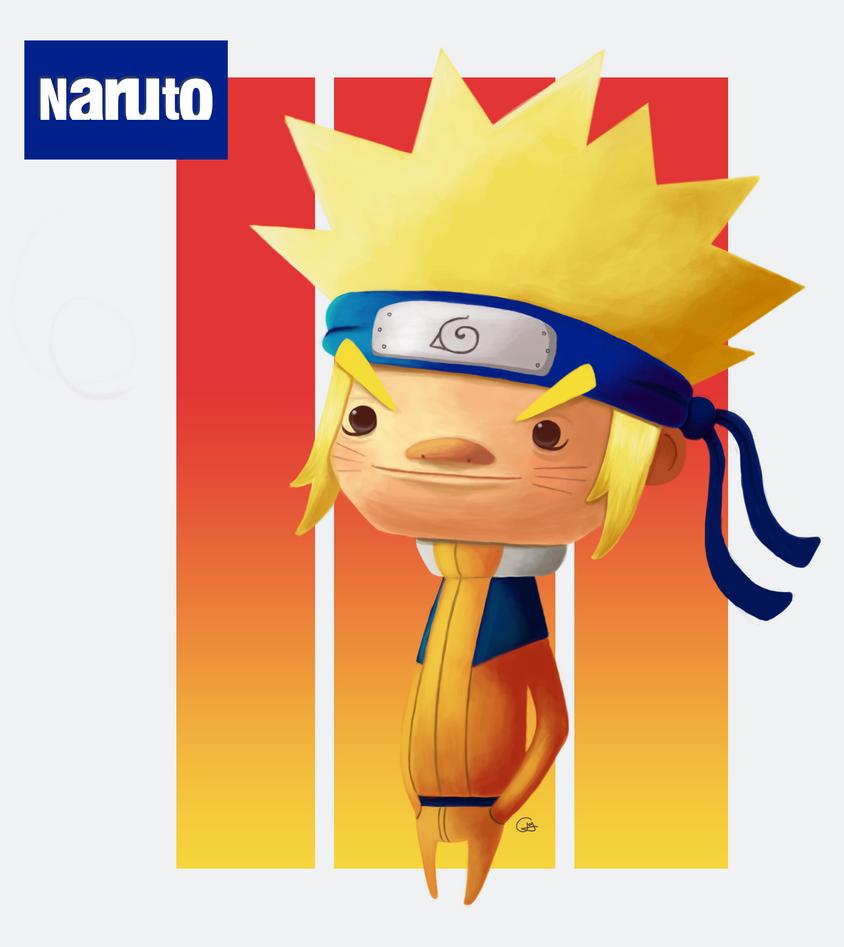 Naruto by heeycah