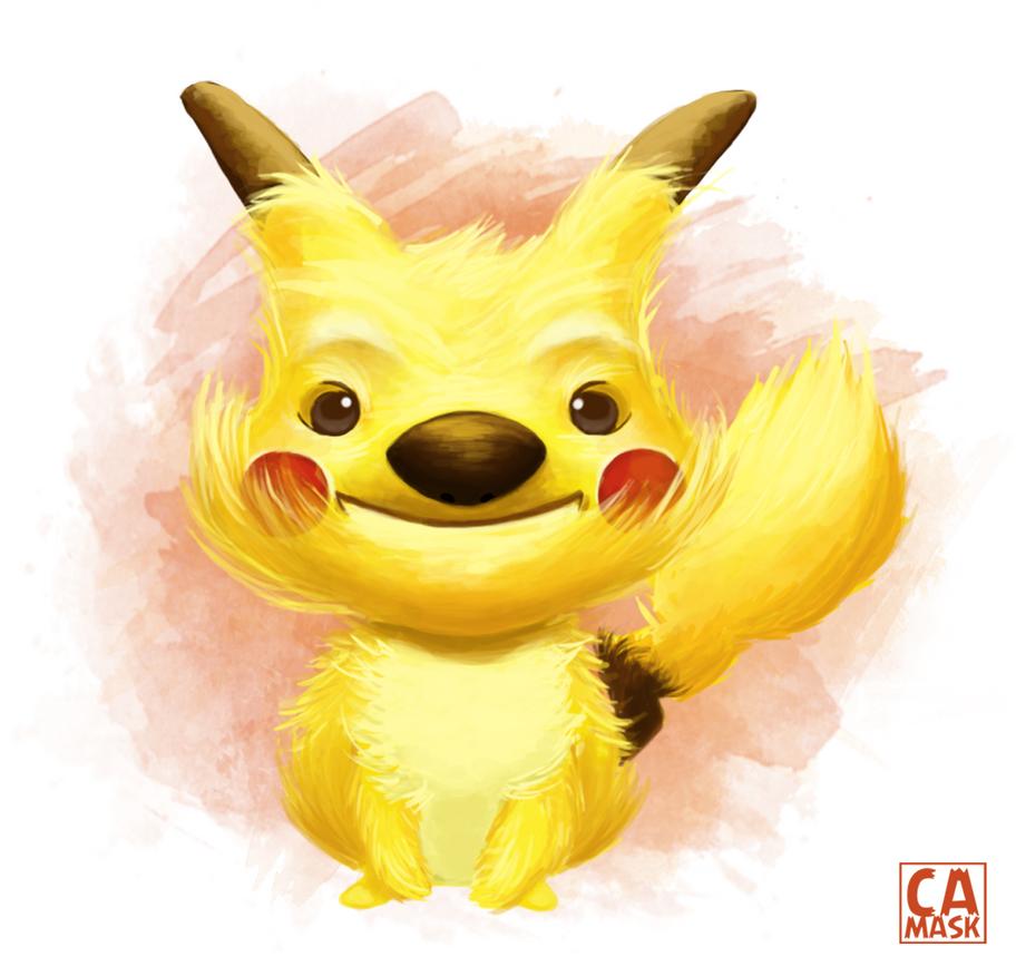Pikachu by heeycah