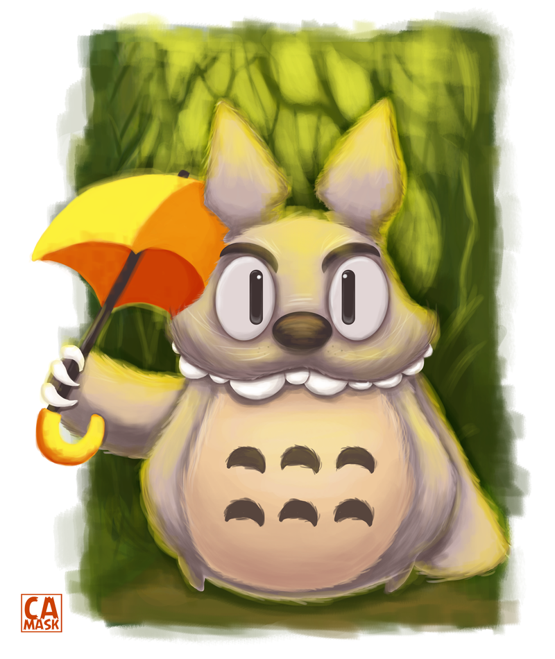 How I Met Your Totoro by heeycah