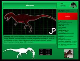 JP Allosaurus by ToxicKittyCat