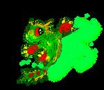 Camo, the leaf dragon