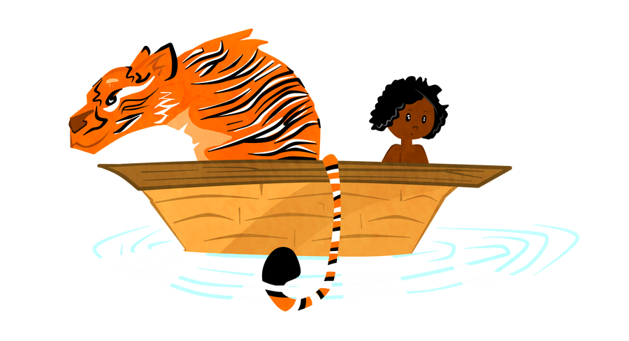 5 symbols of life of pi In terms of the tiger in the movie, pi makes friends i believe with the tiger so the odds of it feeding on the guys body would not be possible outside the movie and if a tiger would feed on someone, even established man-eating tigers will seldom enter human settlements.