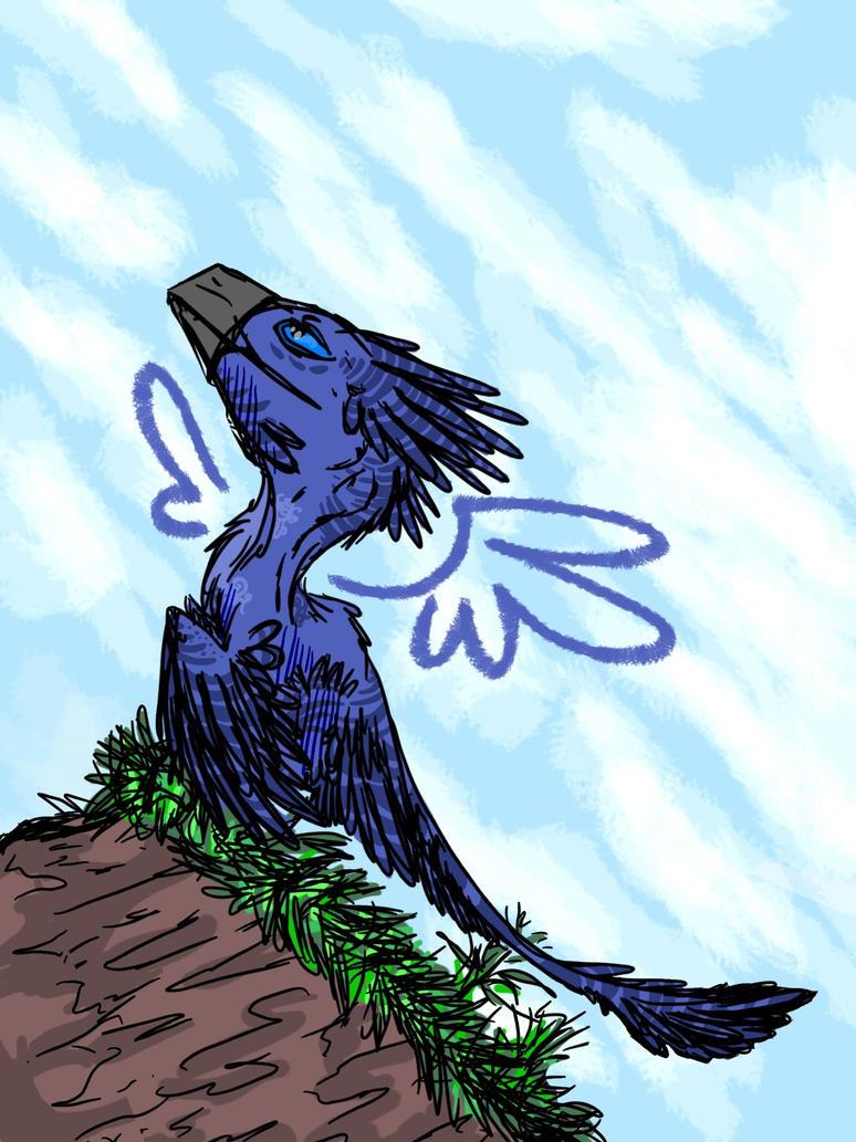 Mr. Blue Sky by ToxicKittyCat