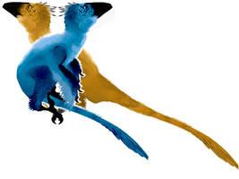 Dakotaraptor by ToxicKittyCat