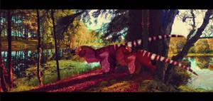 Dromaeosaurus by ToxicKittyCat