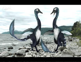 Halszkaraptor by ToxicKittyCat