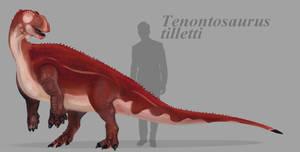 Tenontosaurus tilletti by ToxicKittyCat