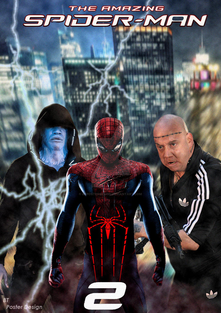 the amazing spiderman 2 2014 poster by btposterdesign on