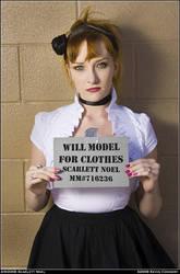 Scarlet will model by Keradwc