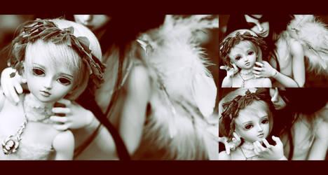 A boy and an angel by MrRomanchikku