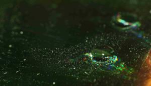 More waterdrops