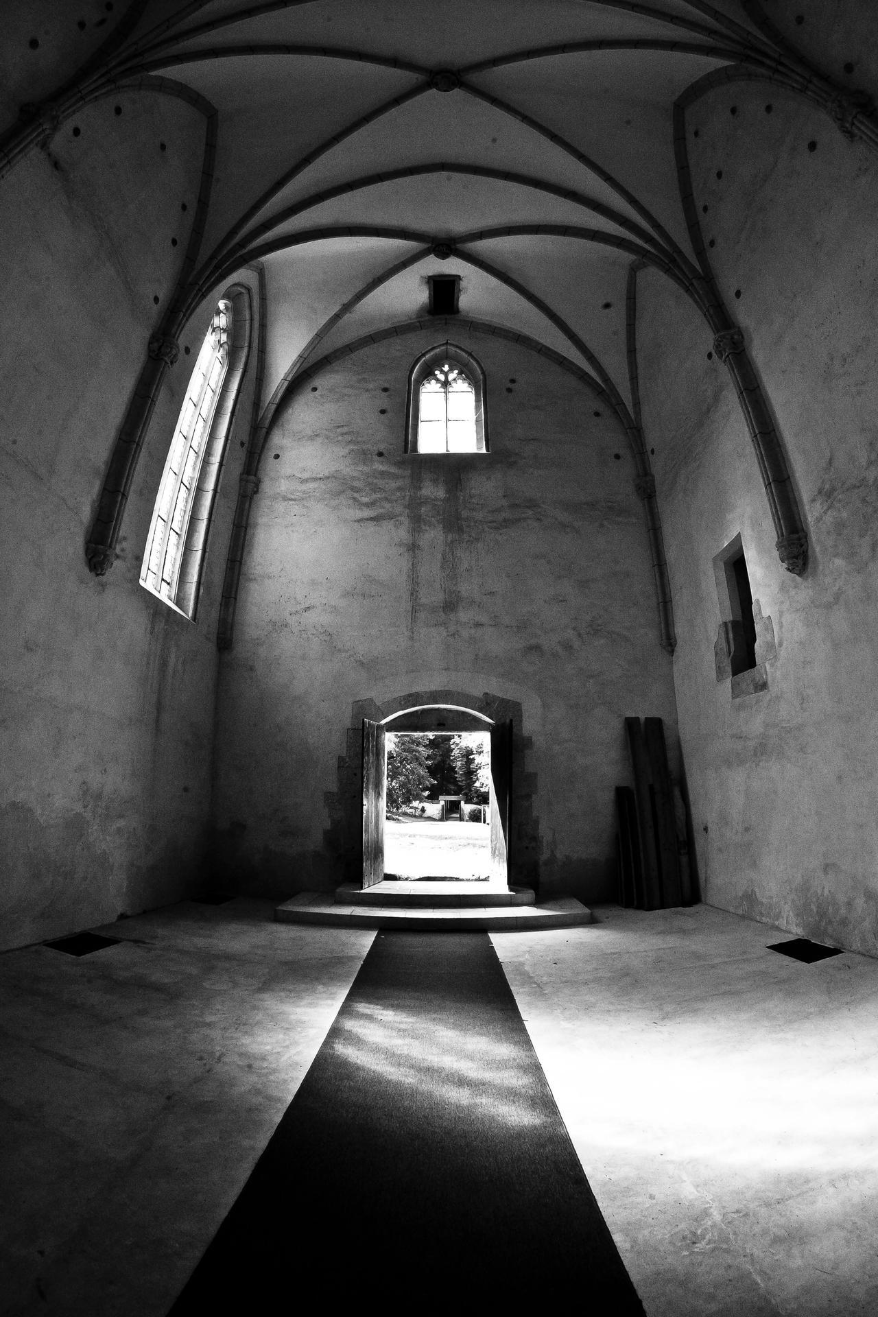 Gothic church interior by luka567