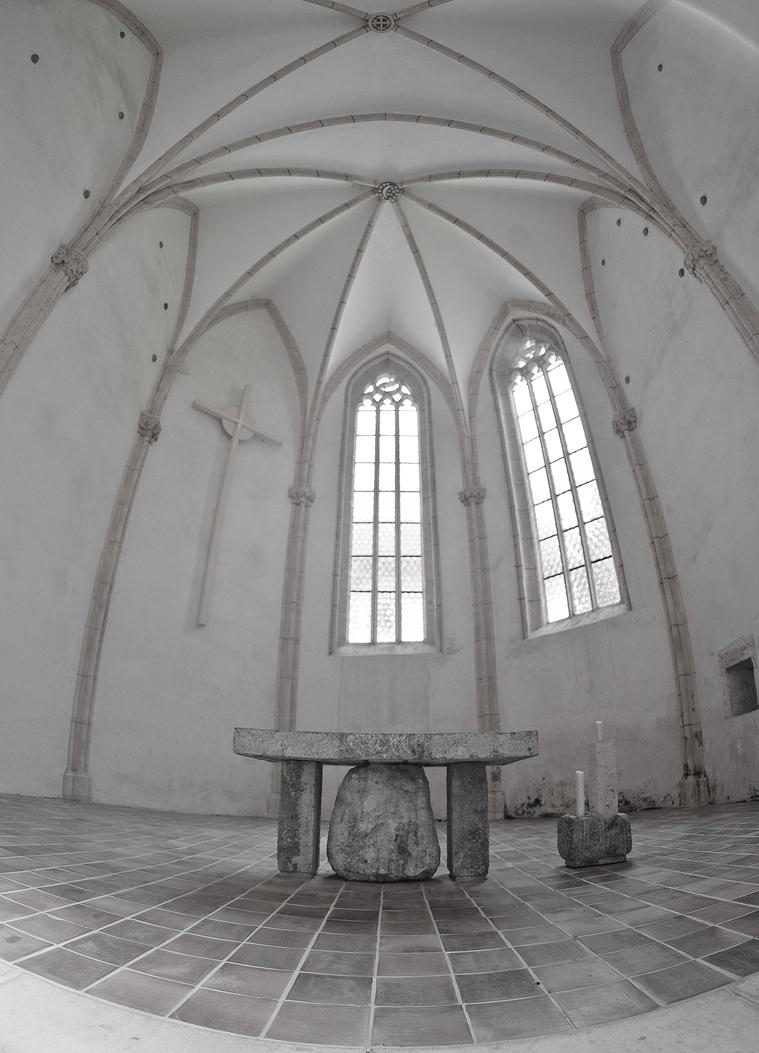 Gothic church interior II by luka567