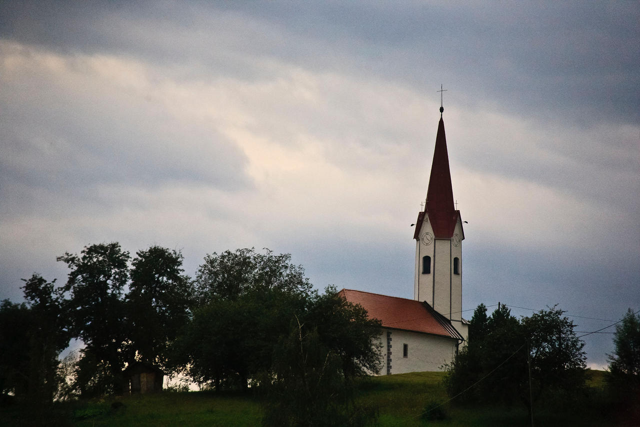 Slovenian church by luka567