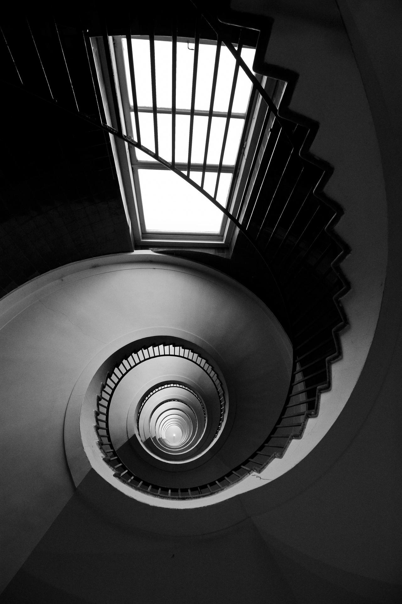 Neboticnik staircase by luka567