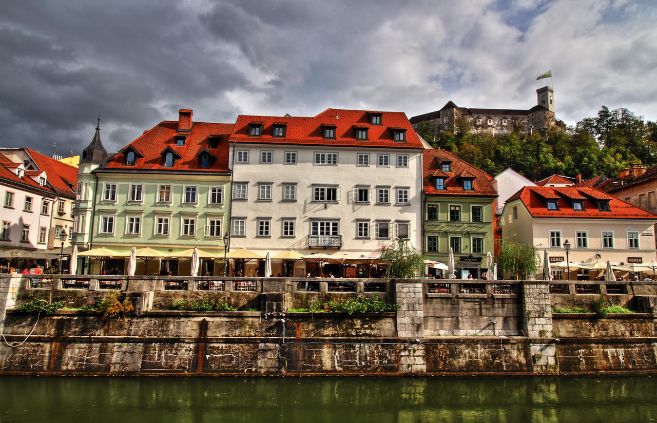 Architecture of Ljubljana by luka567